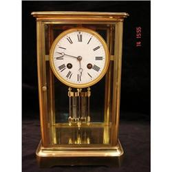 A French 4 glass mantel clock period 1870 #897125