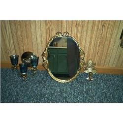 Homco Mirror-2 Separate Sconces #916311