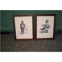 Art-Two Framed Prints-Joanne #916317