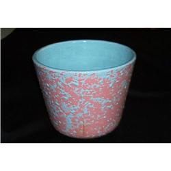Hall -Pink/Blue Speckled Planter #916319