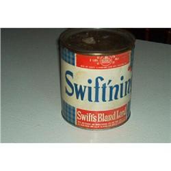 """Swift's Bland""  Lard Can #916329"
