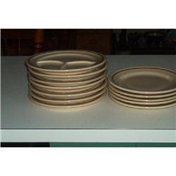 """""""Sterling"""" Desert Tan Resturant Plates #916335"""