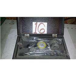 New Fowler 52-710-025-0 Inch Coax-2D 2 Dimensional Coaxial Dial Indicator Set
