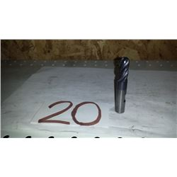 """Solid Carbide Ball Nose End Mill 1/2"""" 4fl."""
