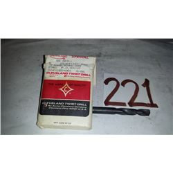 "Cleveland Stub Drill 23/64"""