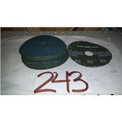 """Zirconia Grinding Disc 4""""1/2 Gr.60"""