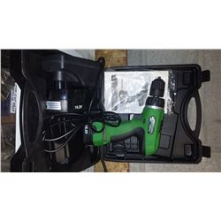 Superior Power Tool 19.2v Cordless Drill with charger and extra battery (tested)