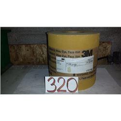 "3M Rolls of Gold Sanding Paper 7"" x 50yds Gr.P100"