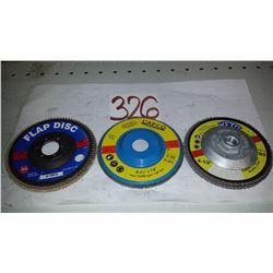 "Flap Disc 4""1/2"