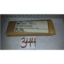 """3M Sanding Paper Sheet(100) 3""""11/16 x 9"""" Gr.180A"""