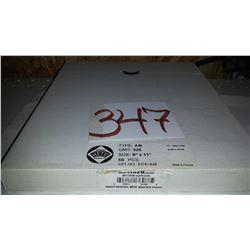 """KETO Sanding Paper(50) 9"""" x 11"""" Gr.320"""