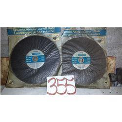 "Industrial Abrasive Cut-Off Disc 8"" x 3/32"""