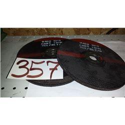"Cast-Iron Grinding Disc 7"" x 1/4"" x 7/8"""
