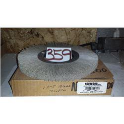 "Abrasive Nylon Wheel 8"" x 1/2"" x 3""1/4"
