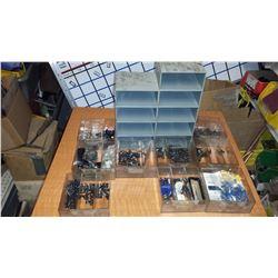 """Small Plastic Cabinet 5"""" x 5"""""""