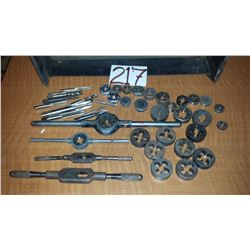 Lot of Wrench, Die and Taps
