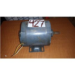 Electric Motor 1/8 hp (tested)