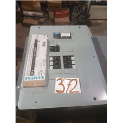 Siemens Service Entrance Loadcentre with Main Breaker 100A