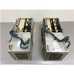 (2) ABB 3HAB 5845-1/2 DSQC 334 POWER SUPPLY W/ CIRCUIT BOARDS