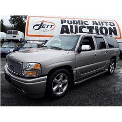 G6 -- 2003 GMC YUKON XL DENALI SUV, BROWN, 266,449 KMS
