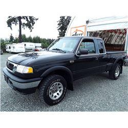 G1 --  1999 MAZDA B4000 CAB PLUS 4X4 , Black , 112820  KM's