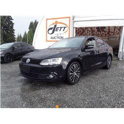 G4 --  2013 VW JETTA SE , Black , 191695  KM's