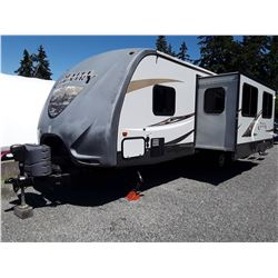 0B --  2013 CROSSROADS 28 BH MAPLE COUNTRY CAMPING TRAILER