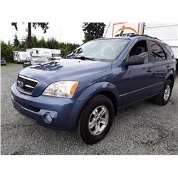 I3 --  2003 KIA SORENTO EX , Blue , 209244  KM's