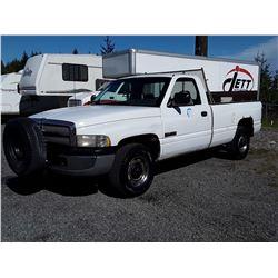 F4 --  1995 DODGE RAM 2500 , White , 359836  KM's