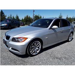 D6 --  2006 BMW 323I , Silver , 164027  KM's