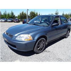A7 --  1998 HONDA CIVIC EX  , Blue , 137689  KM's