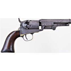 "Colt 1849 .32 cal. SN 131302 5 shot percussion revolver with 4"" barrel blued finish and varnished wa"
