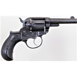 "Colt Thunderer .41 cal. SN 130667 double action ejector less revolver with 3 1/2"" barrel blued finis"