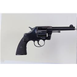 "Colt New Army .41 cal. SN 212408 double action revolver with 4 1/2"" barrel blued finish and Colt che"
