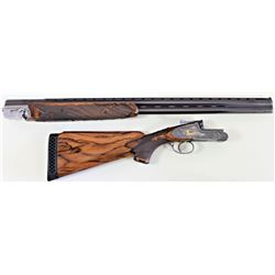 Master engraved Perazzi side plate 12ga. SN49856 O/U shotgun. At a cost over 40,000 today the shotgu