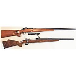 "Collection of 2 rifles includes 1) U.S. Eddystone Model 1917 25-06 AN 661457 with Flaigs 26"" heavy r"