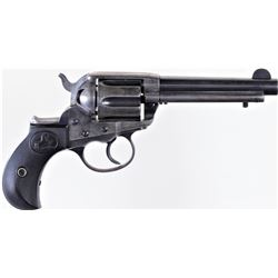 Colt 1877 Lightning .38 cal. SN 110691 double action revolver blue and case hardened finish with Col