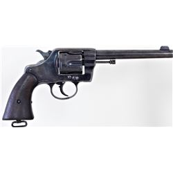 "Colt Model US Army 1901 .38 cal. SN 196135 double action military revolver with standard 6"" round ba"