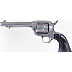 "Colt SA Army .32 cal. SN 313961 revolver with standard 5 1/2"" barrel blued finish with Colt hard rub"