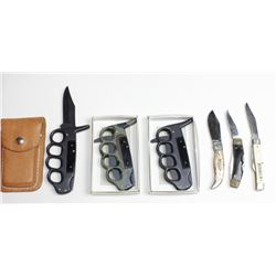 Collection of 6 misc. knives.