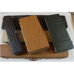 Collection of 6 gun hardcases.