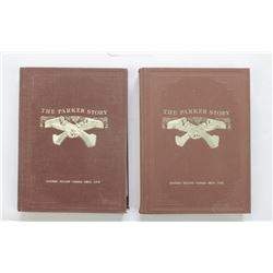 """Two volume book set """"The Parker Story"""" by Louis Parker IIIby Louis Parker III"""