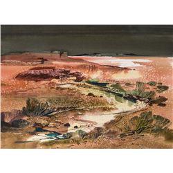 Laurence Philip Sisson   River Running through Landscape