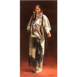 James Asher | Plains Indian Woman