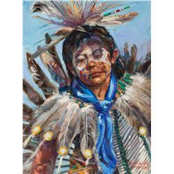 Guadalupe Apodaca   Indian Boy
