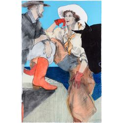 Donna Howell-Sickles | Cowboy and Cowgirl Gazing