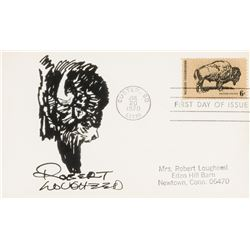 Robert Lougheed | First Day Cover with Buffalo