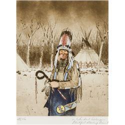 Michael Coleman   Blackfoot Standing Bonnet