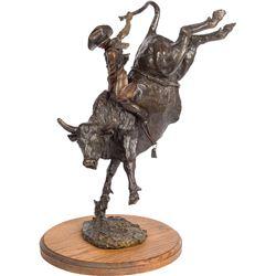 Bruce Contway   Bull Rider