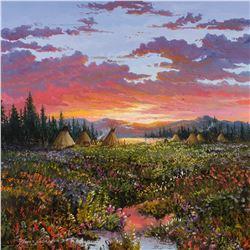 Thomas Dedecker | Sunset Encampment - Sioux